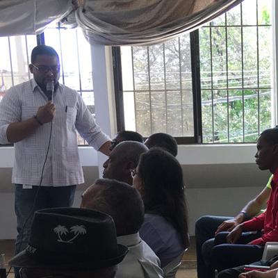 SIPEN ofrece charla a Organización Dominicana de Ciegos