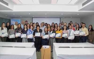 Escuela Previsional SIPEN ofrece taller a miembros de COPARDOM
