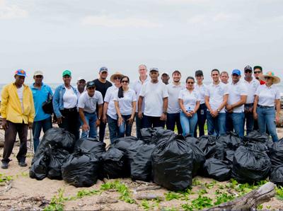 SIPEN realiza Jornada de Limpieza de Costas por tercer año consecutivo